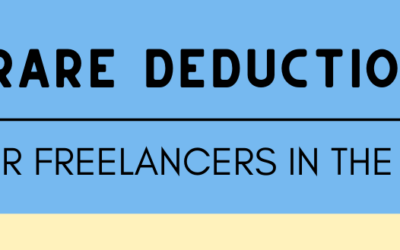 Rare Deductions for Freelancers